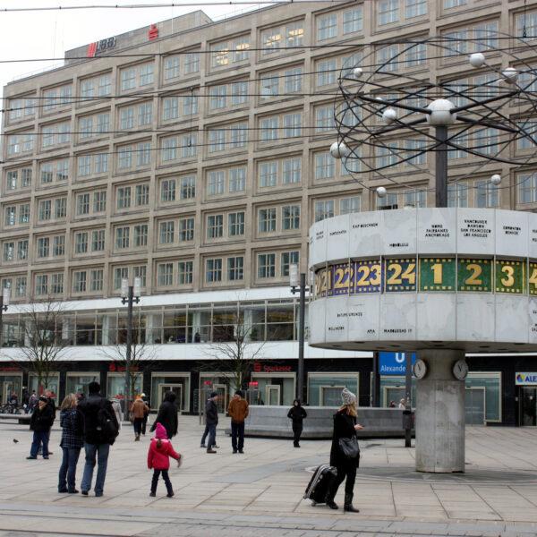 Alexanderplatz - Berlijn - Duitsland