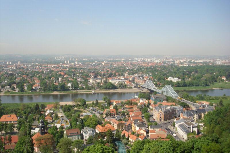 Blaues Wunder - Dresden - Duitsland