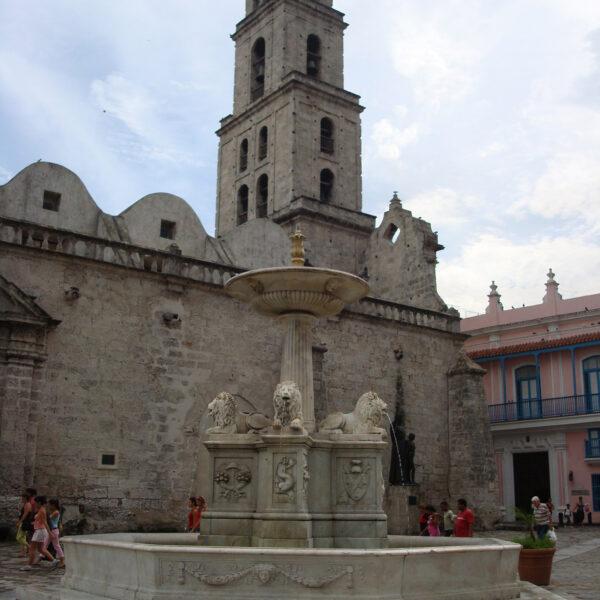 Fuente de los Leones - Havana - Cuba