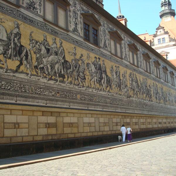 Fürstenzug - Dresden - Duitsland