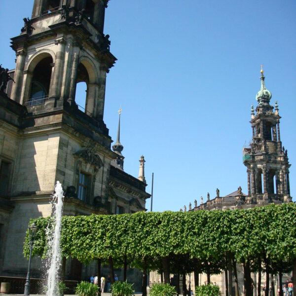 Hofkirche - Dresden - Duitsland