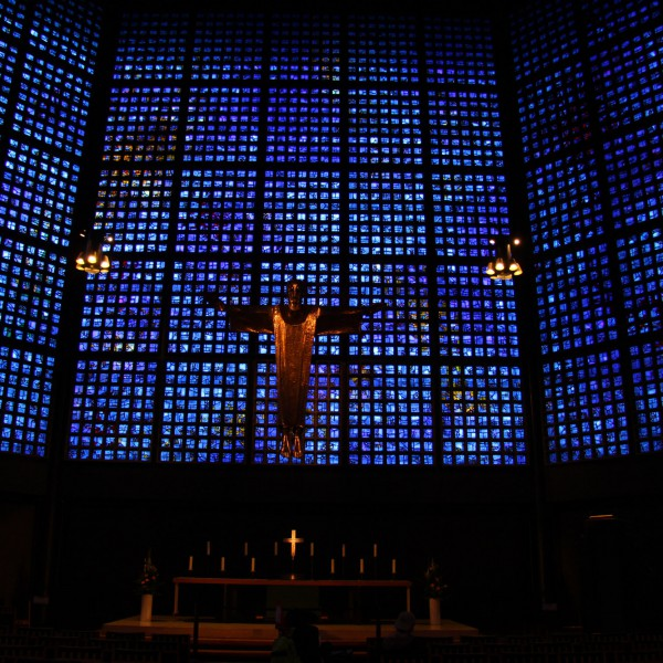 Kaiser-Wilhelm Gedächtnis Kirche - Berlijn - Duitsland