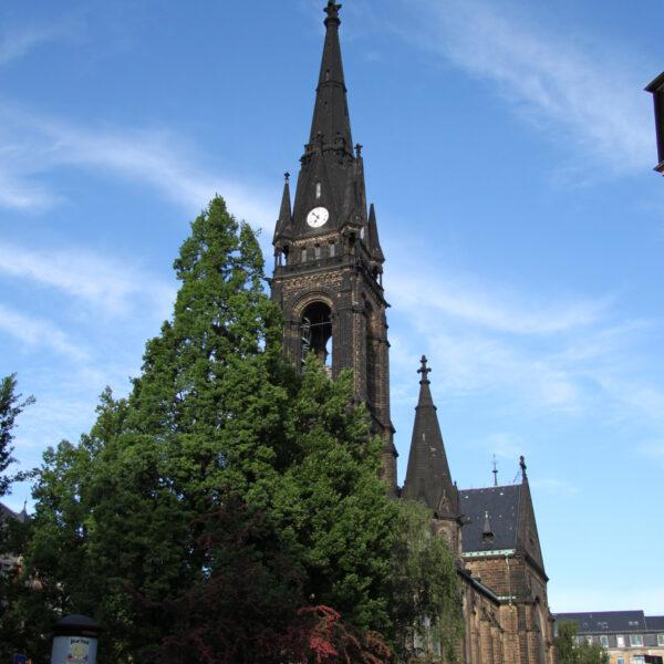 Martin-Luther Kirche - Dresden - Duitsland