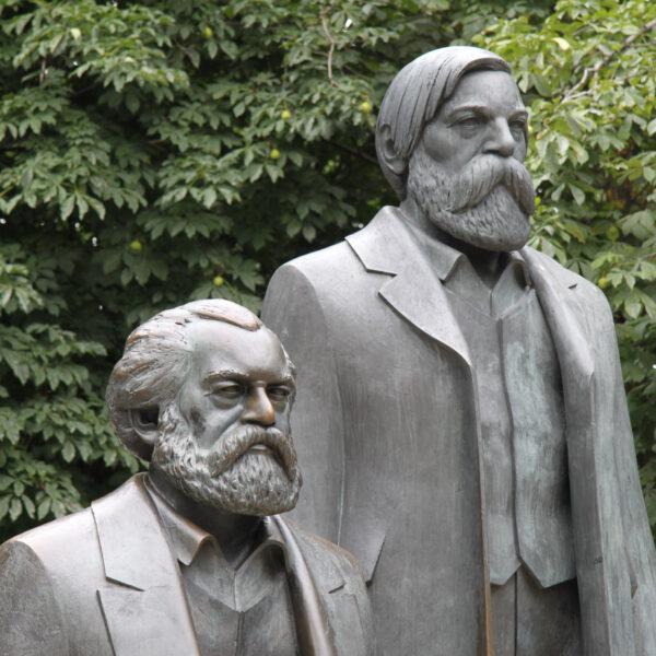 Marx-Engels-Forum - Berlijn - Duitsland