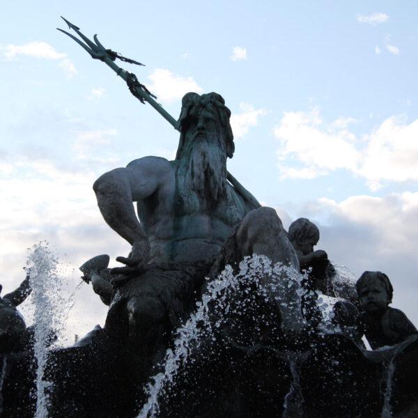 Neptunbrunnen - Berlijn - Duitsland