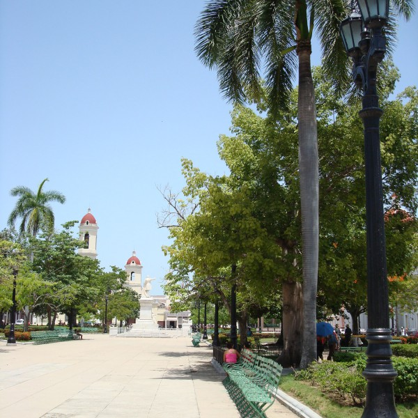Parque Martí - Cienfuegos - Cuba