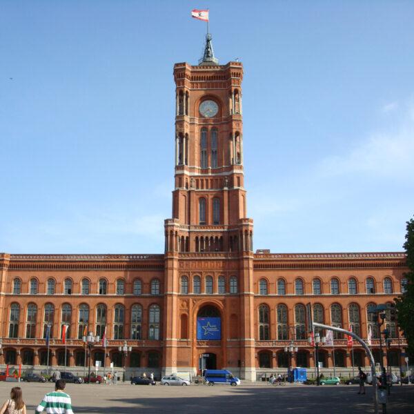 Rotes Rathaus - Berlijn - Dresden
