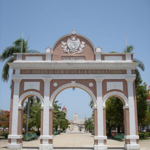 Triomfboog - Cienfuegos - Cuba