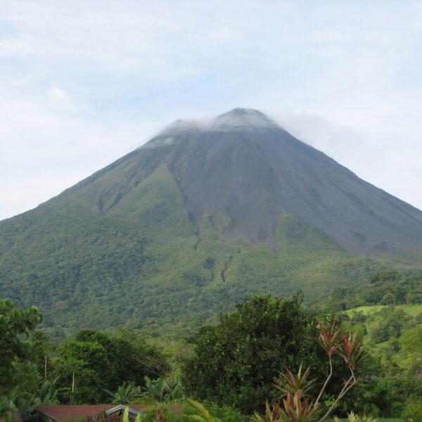 Volcán Arenal - de gigant slaapt