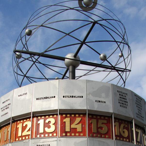 Weltzeituhr - Berlijn - Duitsland