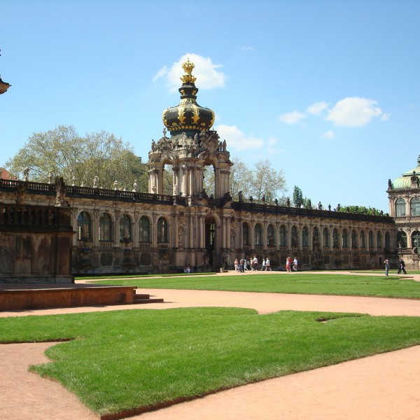Zwinger - Dresden- Duitsland