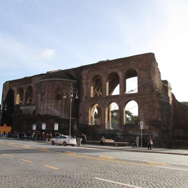Basilica van Constatijn en Maxentius - Rome - Italië