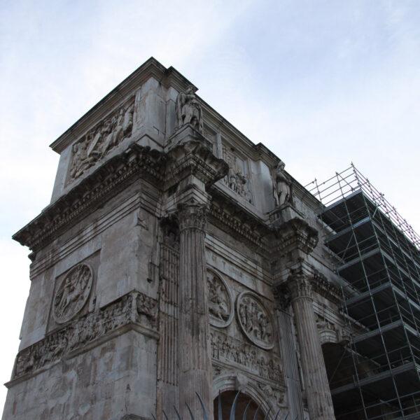 Boog van Constatijn - Rome - Italië