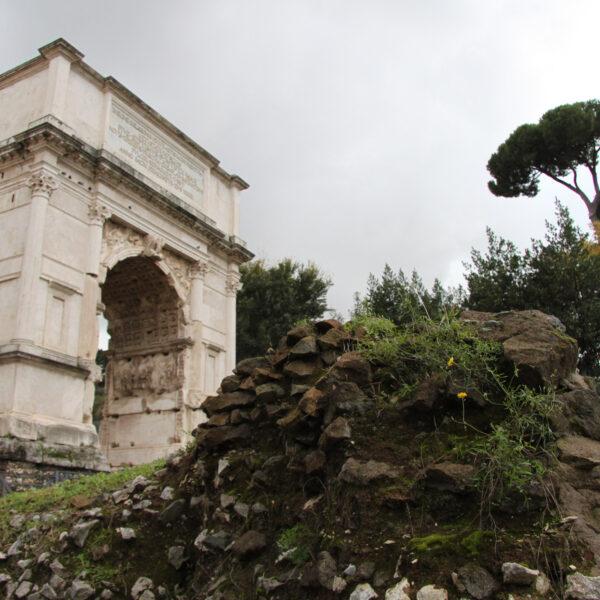 Boog van Titus - Rome - Italië