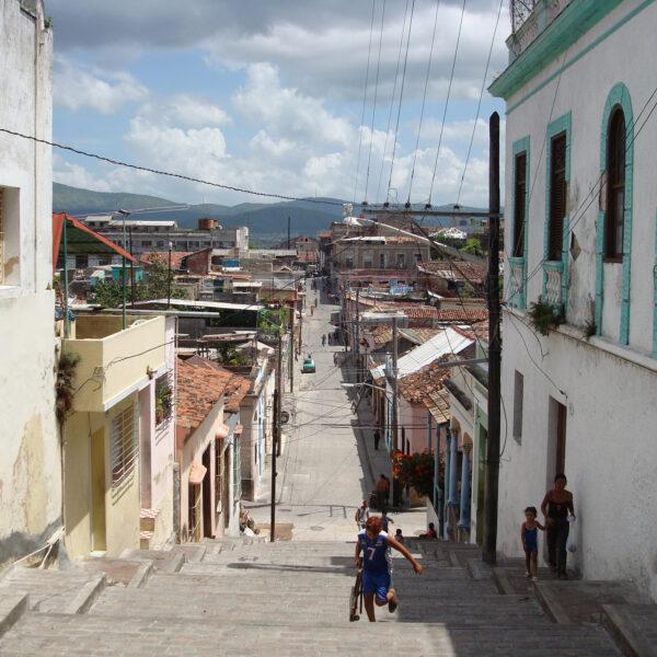 Calle Padre Pico - Santiago de Cuba - Cuba
