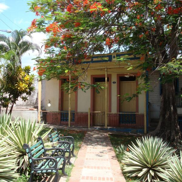 Fidel Castro's studentenhuis - Santiago de Cuba - Cuba
