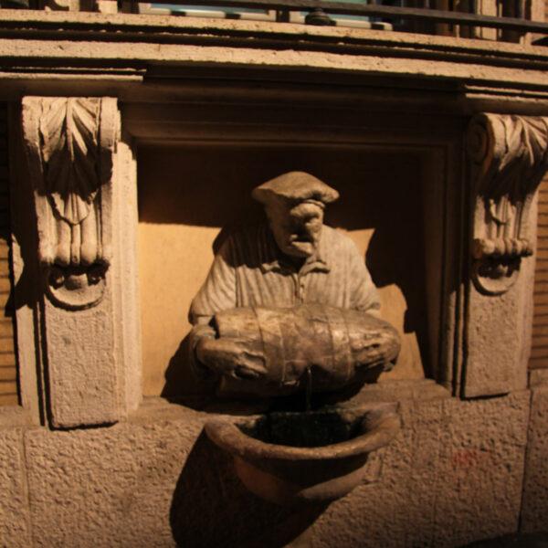 Fontanella del Facchino – Rome - Italië