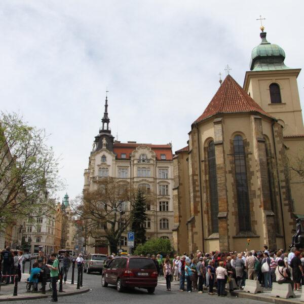 Heilige Geestkerk - Praag - Tsjechië