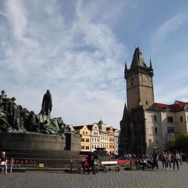 Jan Husmonument - Praag - Tsjechië