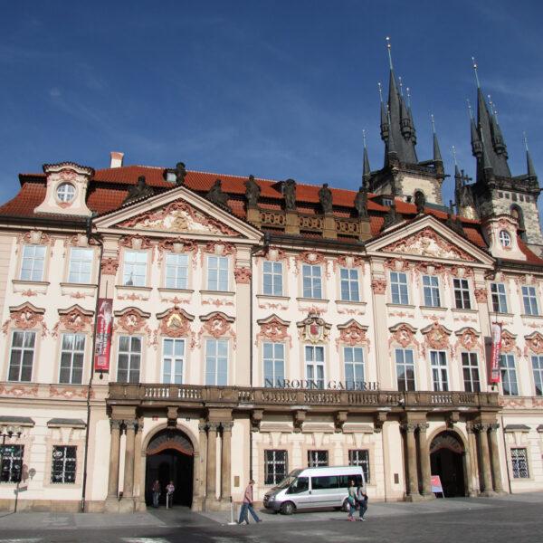 Kinskýpaleis - Praag - Tsjechië