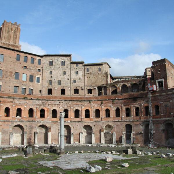 Markten van Trajanus - Rome - Italië