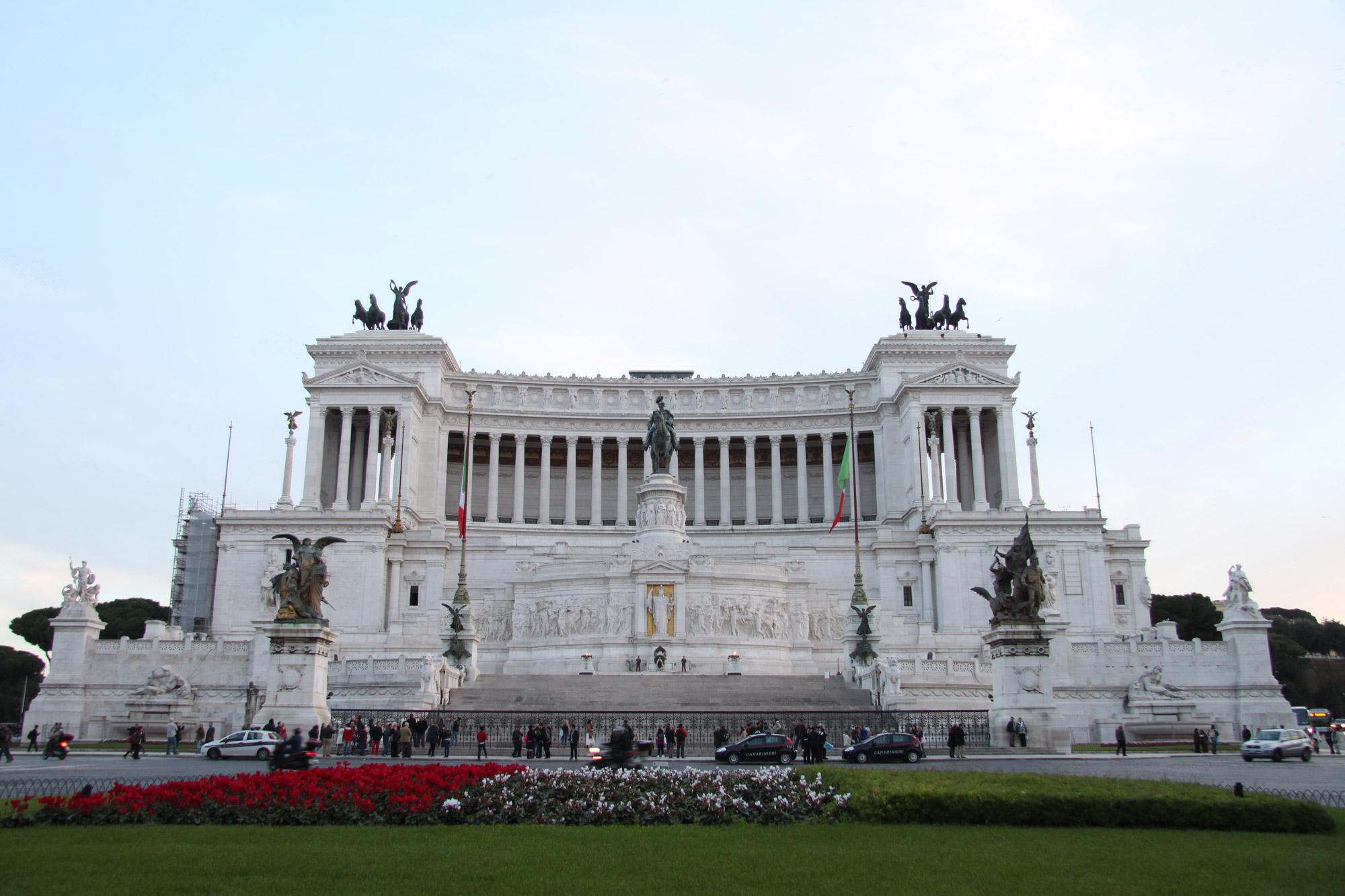 Monument Van Victor Emanuel Ii.Monument Voor Victor Emanuel In Rome Italie Reizen
