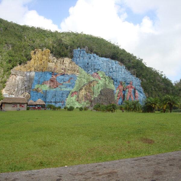 Mural de la Prehistoria - Valle de Viñales - Cuba