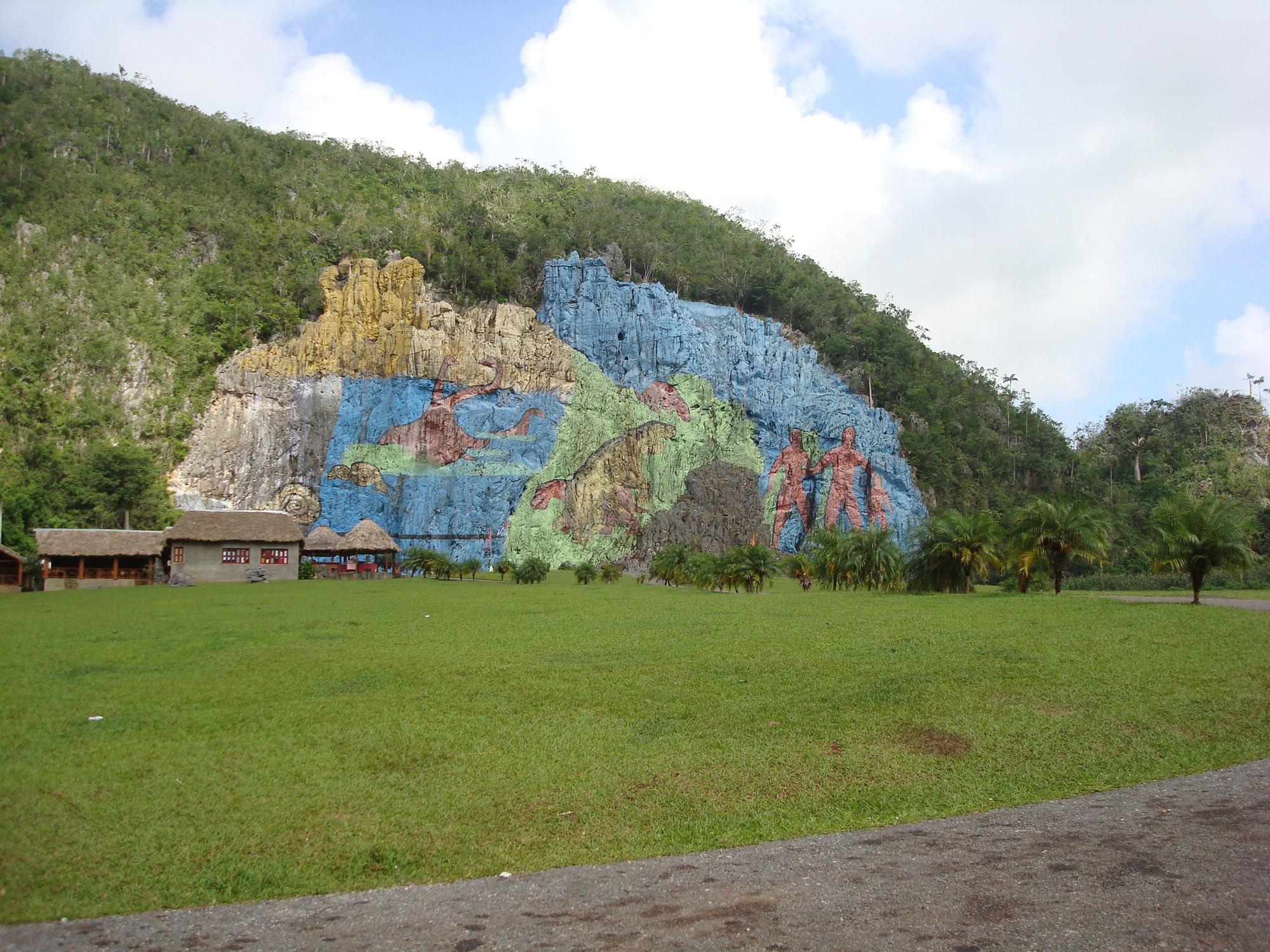 Valle de vi ales in cuba reistips en bezienswaardigheden for Mural de la prehistoria cuba