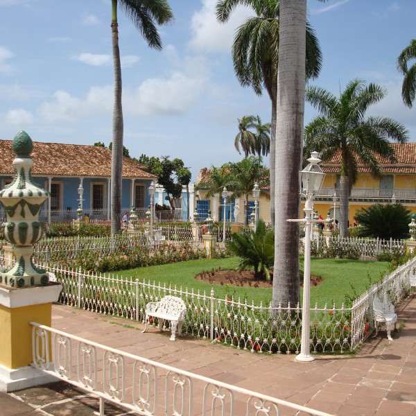Plaza Mayor - Trinidad - Cuba
