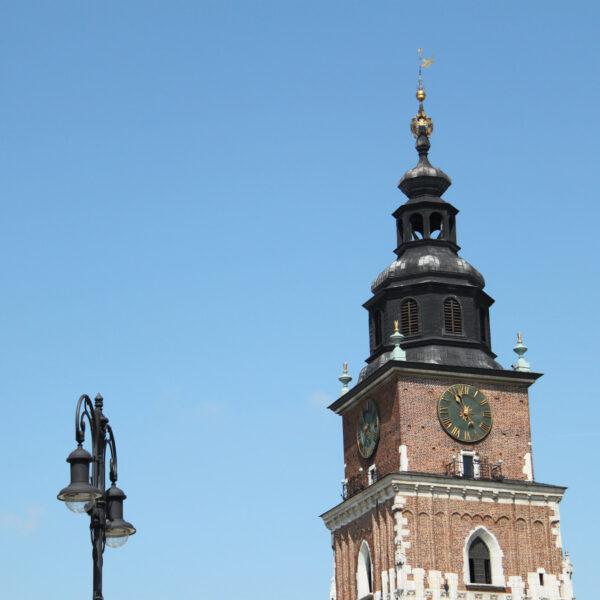 Raadhuistoren - Krakau - Polen