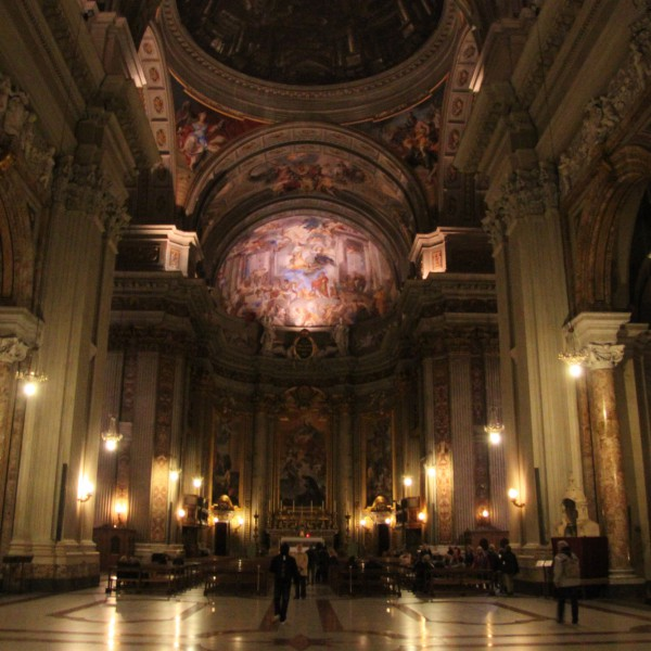 Sant`Ignazio di Loyala - Rome - Italië