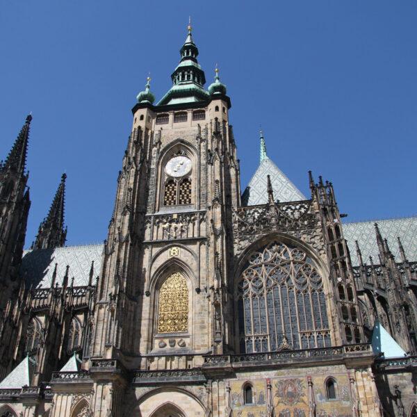 St. Vituskathedraal - Praag Tsjechië