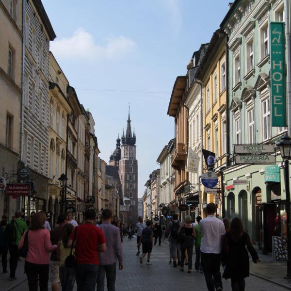 Ulica Florianska - Krakau - Polen