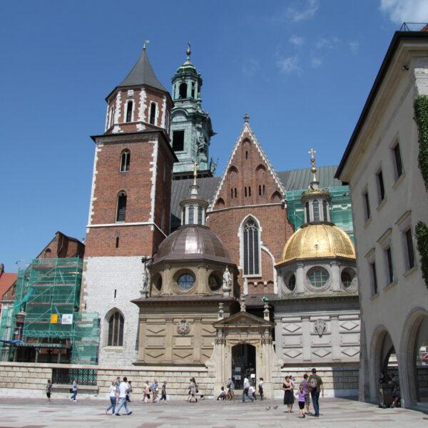 Wawelkathedraal - Krakau - Polen