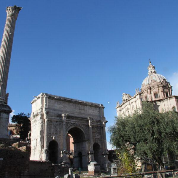 Boog van Septimius Severus - Rome - Italië