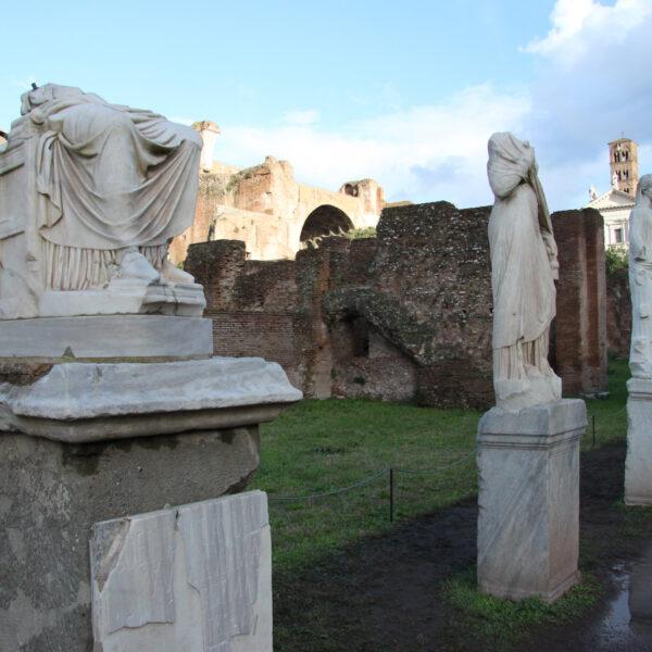 Huis van de Vestaalse Maagden - Rome - Italië
