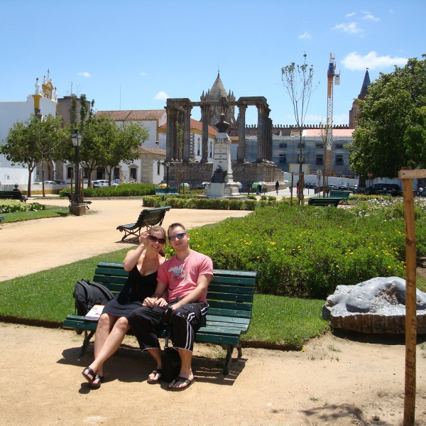 Jardim Diana - Évora - Portugal