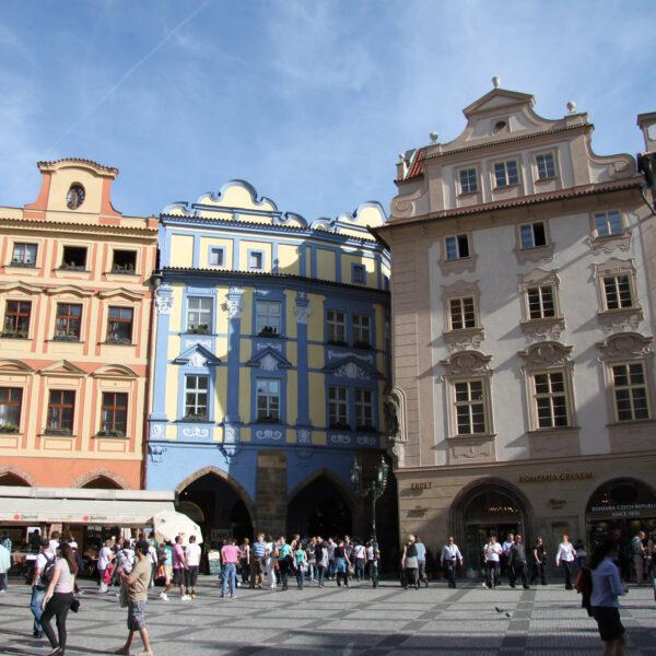 Plein Oude Stad -Praag- Tsjechië