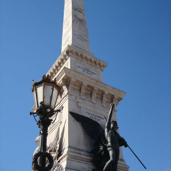 Praça dos Restauradores - Lissabon - Portugal