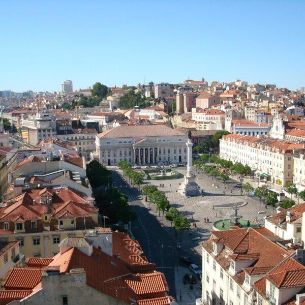 Rossio - Lissabon - Portugal