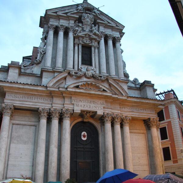 Santi Vincenzo e Anastasio - Rome - Italië