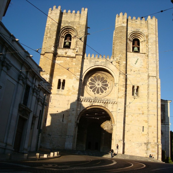 Sé - Lissabon - Portugal