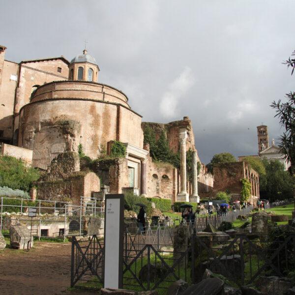 Tempel van Romulus - Rome - Italië