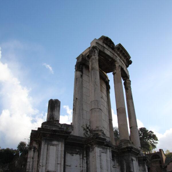 Tempel van Vesta - Rome - Italië