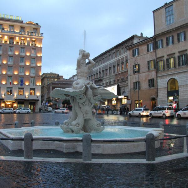 Fontana del Tritone - Rome - Italië