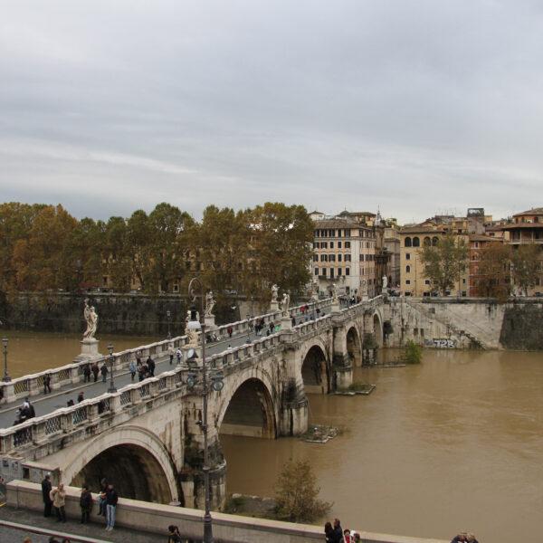 Ponte Sant`Angelo - Rome - Italië