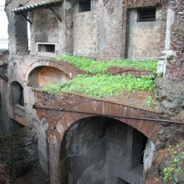 Romeins Insula - Rome - Italië