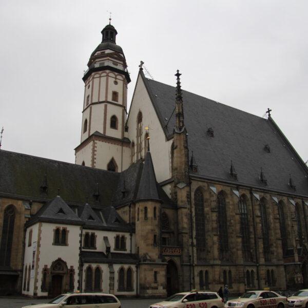 Thomaskirche - Leipzig - Duitsland
