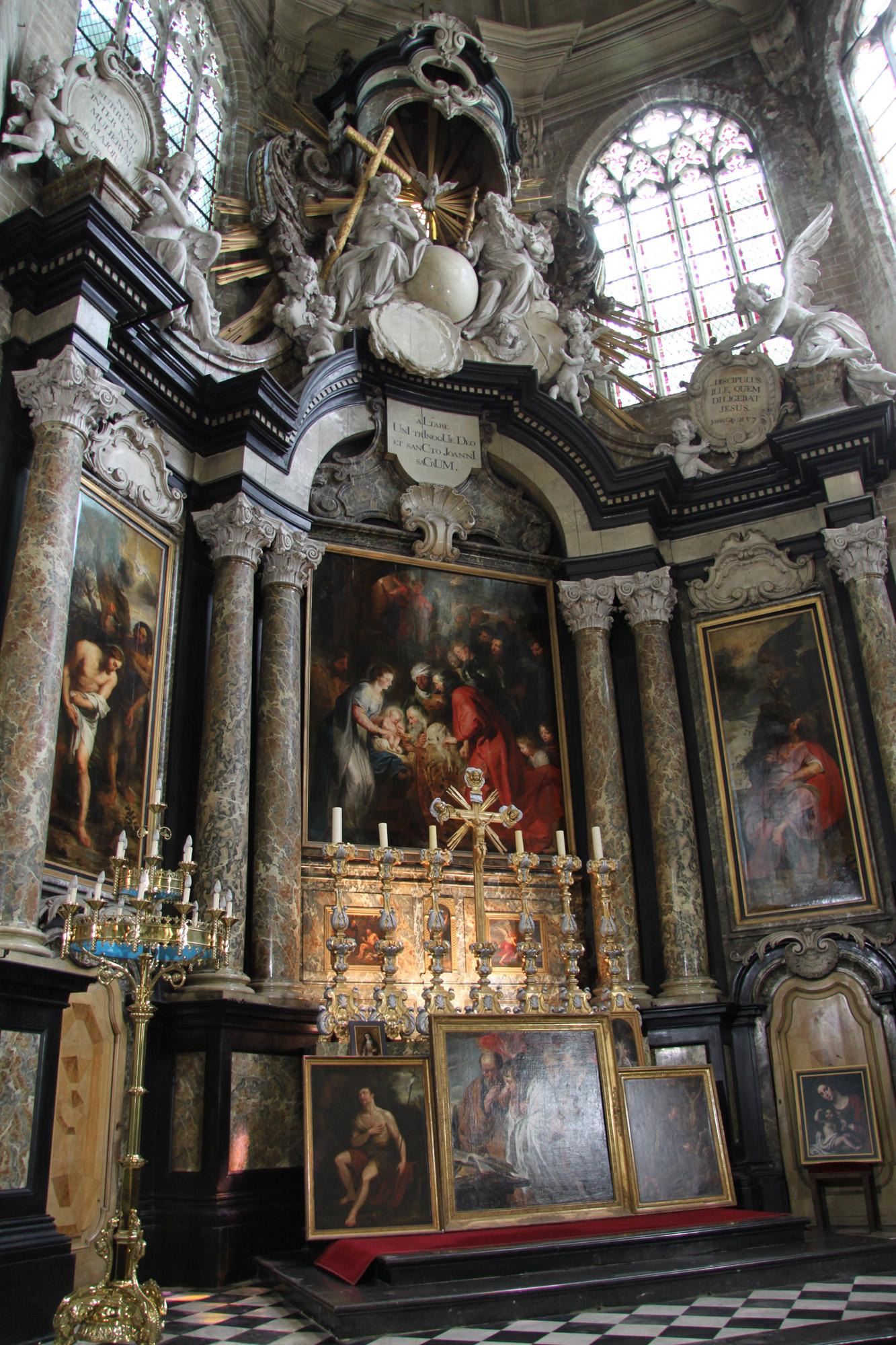 Sint katelijnekerk in mechelen belgi reizen reistips for Interieur mechelen