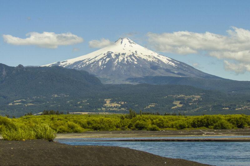 Volcán Villarrica barst uit